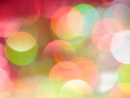 Multi-Colored Bokeh Texture 1 by FantasyStock