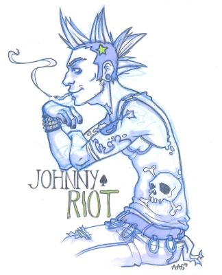 Johnny Riot by NakedHotdog