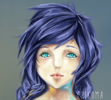 innocent + speedpaint by nechin