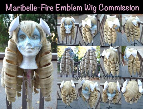 Wig Commission::Maribelle- Fire Emblem by Faxen