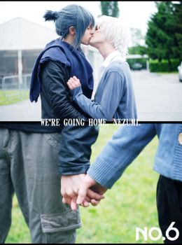 Shion And Nezumi Cosplay - Back. Home. Together. by DakunCosplay