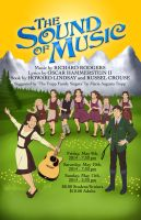 Sound of Music Poster (with faces) by tygerbug