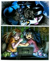 When we playing FNaF SL by Mizuki-T-A