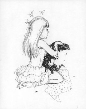 Dr. Sketchy's Live Art nr.12 by camilladerrico