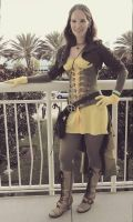 Simple Steampunk style Rogue from X-Men by Seraphima2846
