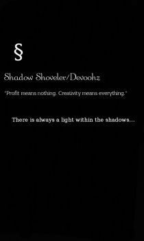 ShadowShoveler by Wolfgirlinfinity