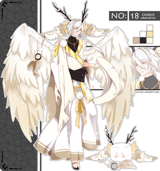 .:CLOSED:. Adoptable - Chidus Species 18 by chisei-adopts