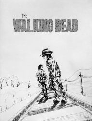 The Walking Dead - poster by Ezequielmercado