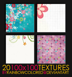 100x100 Textures 4 by rainbowcolored