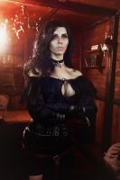 Yennefer of Vengerberg Cosplay by elenasamko