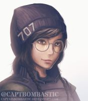 Rainbow Six Siege - Dokkaebi by CaptainBombastic