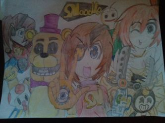 The SNoodle YouTube banner by Jpizza555