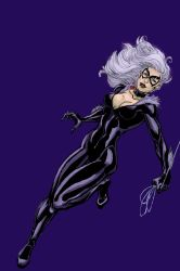 Black Cat Colored by daisyofthenight