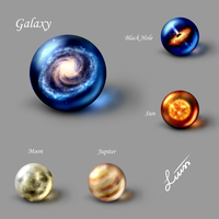 Space-Marbles by LiussSteen