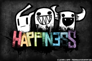 Grunge Happiness by PoisonousJoy