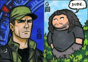 PSC: Stargate and Hurley by grantgoboom