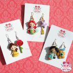 Disney Princess Earrings by dragonfly-world