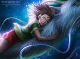 Spirited Away by Loputon