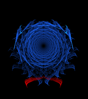 Abstract Orderism Fractal 45 - Wormhole Fractal by GStolyarovII