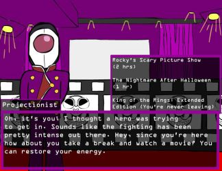 Minion Quest MMXVIII: The Projectionist by Kaity-Chameleon