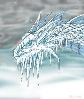 Snow-Dragon by mythori