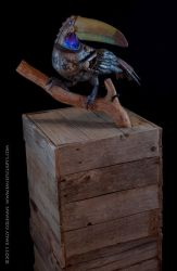 All That Remains, Toucan by emilySculpts