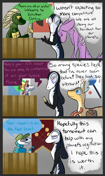 Xotiathon: Prologue Pg6 (Colored) by TheLunaGlitch