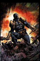 Deathstroke 8 cover Colors by jayfabs