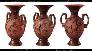 Clay Vase Cut Out by ManicHysteriaStock