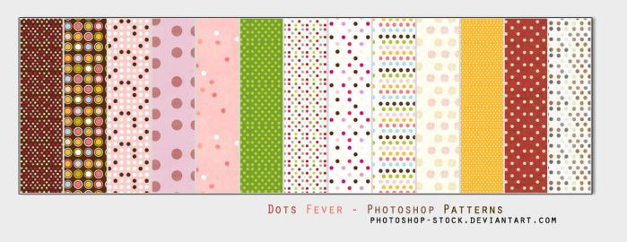 Dots Fever - Ps Patterns by photoshop-stock