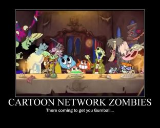 Cartoon Network Zombies. by Tiffany-chan123