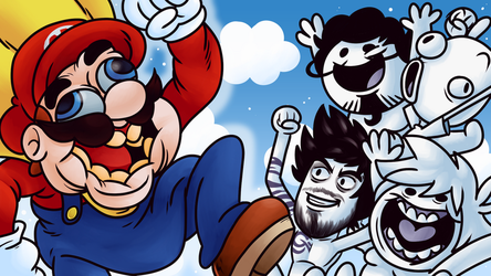 Oney Plays Super Mario World by Wazzaldorp
