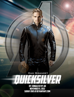 Marvel Quicksilver by Djray1985