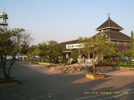 Great Mosque of Demak by astayoga
