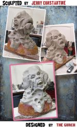 Horror MASK  - work in progress No1 by TheGurch