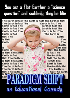 Conversation With A Flat Earther by paradigm-shifting