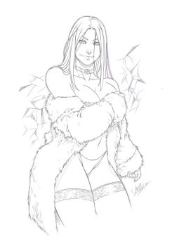 Emma Frost by Dannith