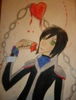 Chained to a Rose. by Mokodoki