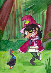 Goose and Magic by Fenrir95