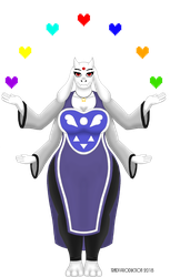 Goddess Toriel by TRADT-PRODUCTION