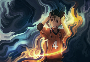 Nishinoya by StrengXD