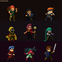 (Animated) RPG classes! by bbrunomoraes