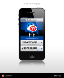 iPhone App - Social Networks by theOrzel