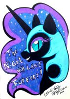 The Night will last forever! by Lorfis-Aniu