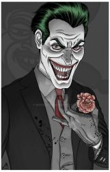 Joker - art by quasilucid