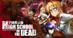 High School of The Dead! by CupcakeVanny