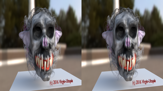 Masque WIP-6 SDS 3D-TV by Virgin-Utopia