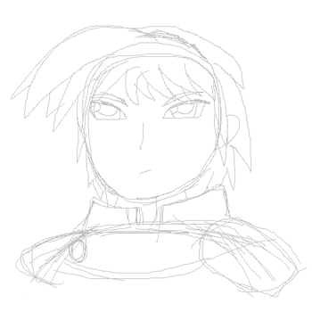 Another Marth doodle by Pidgey64