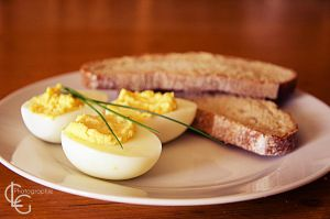 Oeuf Mimosa / Eggs by ClaraLG