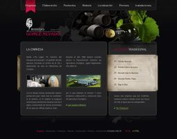 Wine Cellar Web by lKaos